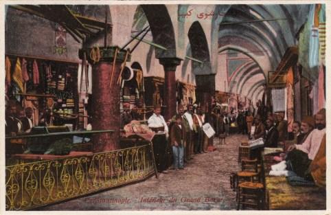 Vieilles cartes postales - Istanbul - 04 - le Grand Bazar