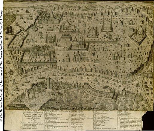 08 - Jaspar Isac - La Ville de Constantinople - 1654