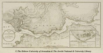 13 - Artaria et Comp. - Plan de Constantinople et du Bosphore pour servir de renseignement à la Carte des Limites des trois Empires - 1793-1802