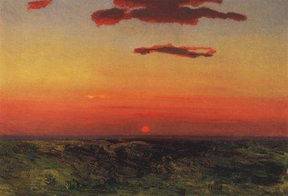 Arkhip Ivanovich Kuindzhi - Coucher de soleil - 1898-1908