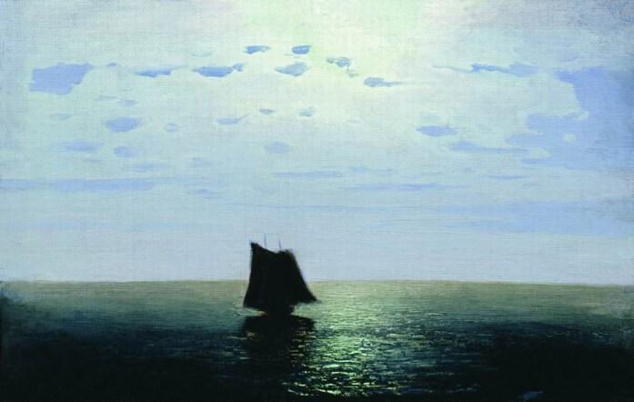 Arkhip Ivanovich Kuindzhi - Nuit au clair de lune sur la mer