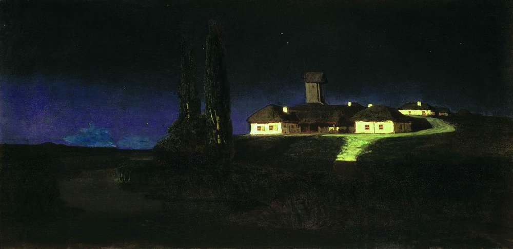 Arkhip Ivanovich Kuindzhi - Nuit ukrainienne - 1876
