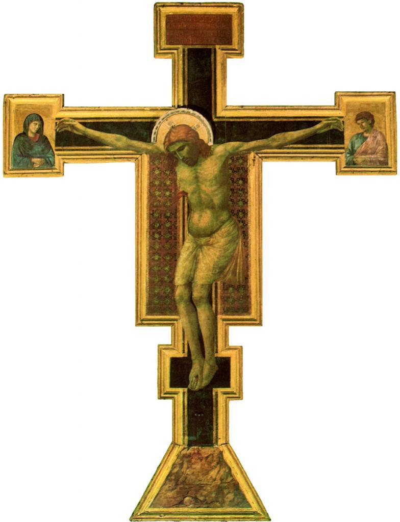Giotto di Bondone - Crucifix (Croce) Santa Maria Novella