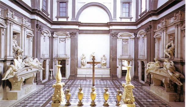 Michelangelo Buonarotti - Sagrestia Nuova Cappella dei Medici - Firenze