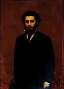 Portrait d'Arkhip Ivanovich Kuindzhi par Ivan Nikolaïevitch Kramskoï - 1870