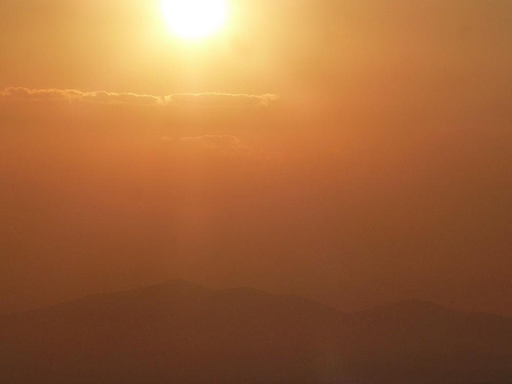 Lever de soleil en Cappadoce