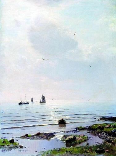 Nikolai Nikanorovich Dubovskoy - Lac Ladoga - 1890