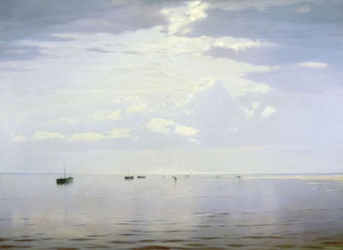 Nikolai Nikanorovich Dubovskoy - Près de la Volga - 1892