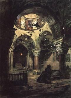 Vasili Dimitrievich Polenov (1844 - 1927) - Eglise Sainte-Hélène - 1882