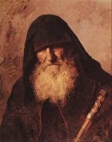 Vasili Dimitrievich Polenov (1844 - 1927) - Moine palestinien - 1886