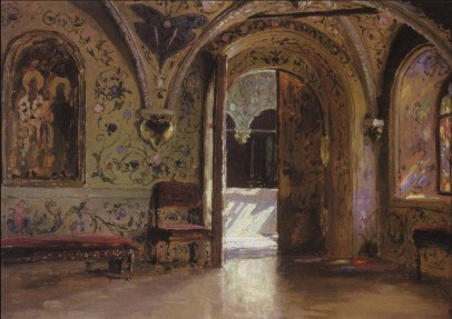 Vasili Dimitrievich Polenov (1844 - 1927) - Palais des Térems à Moscou (2) - 1877