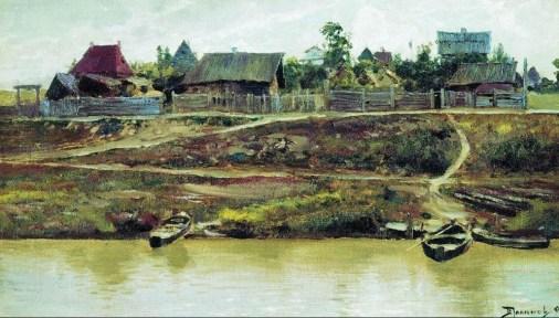Vasili Dimitrievich Polenov (1844 - 1927) - Près de la Volga - 1897