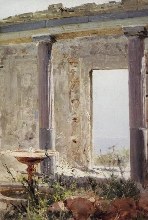 Vasili Dimitrievich Polenov (1844 - 1927) - Ruines en Palestine - 1882