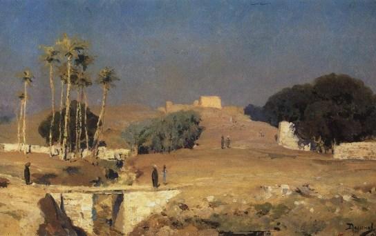 Vasili Dimitrievich Polenov (1844 - 1927) - Vieux Caire - 1882