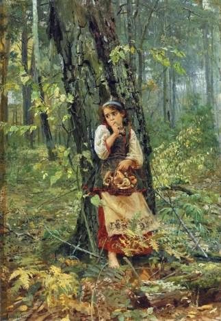 Dans la forêt profonde