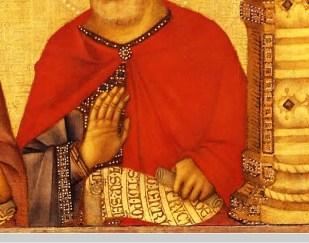 Détail du patriarche