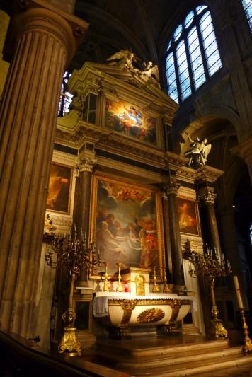 Saint-Nicolas des Champs (retable de Simon Vouet)