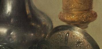 Willem Claeszoon Heda - Nature morte à la tartelette (Détail coupes) - 1635 - 106x111cm - National Gallery of Art - Washington