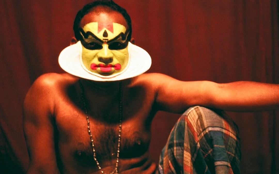 Scène de transe au temple de Kali à Kochi