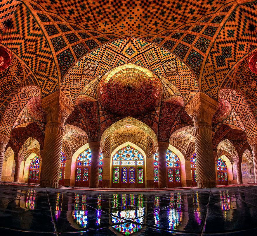 Mosquée Nasir-ol-Molk, Shiraz - Iran