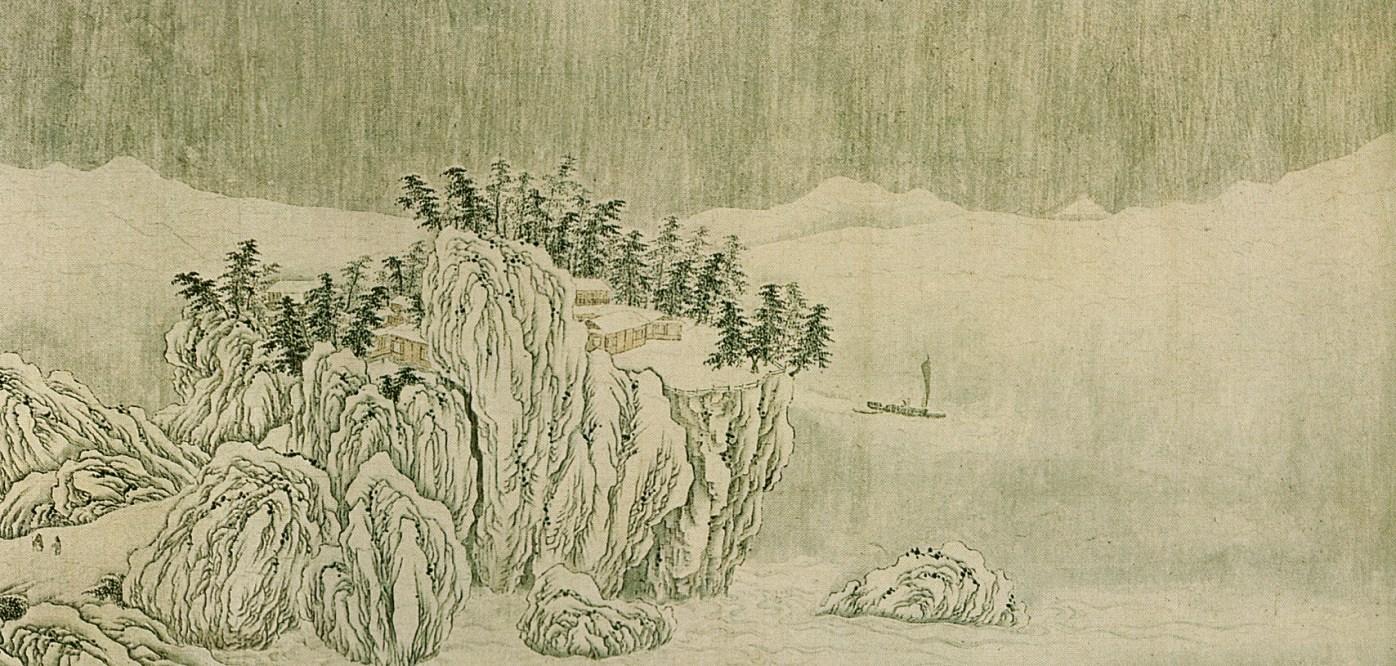 Wang Wei - Neige sur la Yangtzé - 1