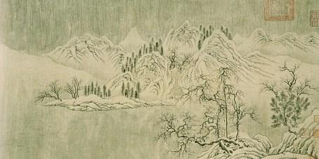 Wang Wei - Neige sur la Yangtzé - 2