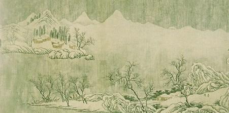 Wang Wei - Neige sur la Yangtzé - 4