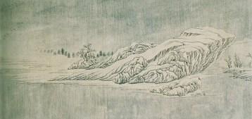 Wang Wei - Neige sur la Yangtzé - 6