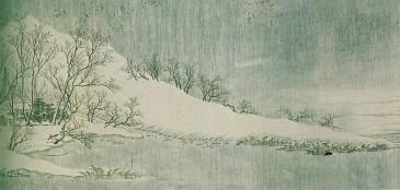 Wang Wei - Neige sur la Yangtzé - 8