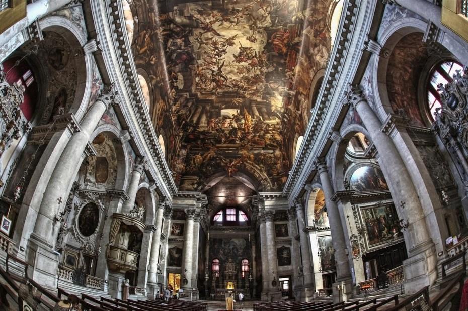 Gian Antonio Fumiani - Apothéose de Saint Pantaléon - Chiesa di San Pantalon martire - 1680 à 1704 - Venise