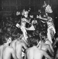 Cérémonie du Kecak en 1971 - Tropenmuseum