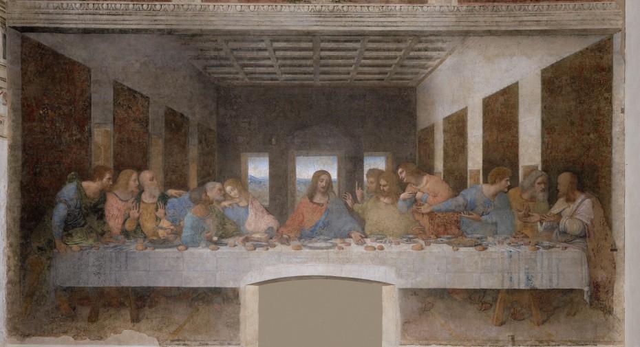 La Cène - Leonardo da Vinci - 1494-1498 - Santa Maria delle Grazie - Milano