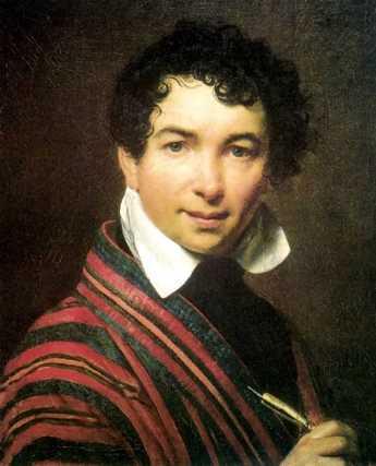 Orest Adamovich Kiprensky - Autoportrait - 1828