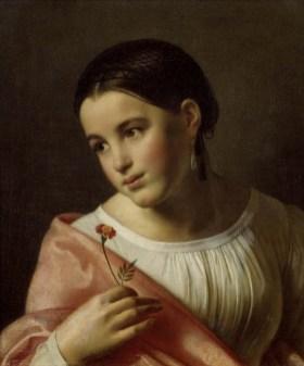 Orest Adamovich Kiprensky - La pauvre Lisa - 1827