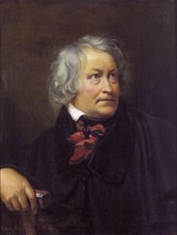 Orest Adamovich Kiprensky - Portrait de Bertel Thorvaldsen - 1833