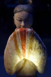Splendeurs des Han - Musée Guimet - 01 - Statuette en terre