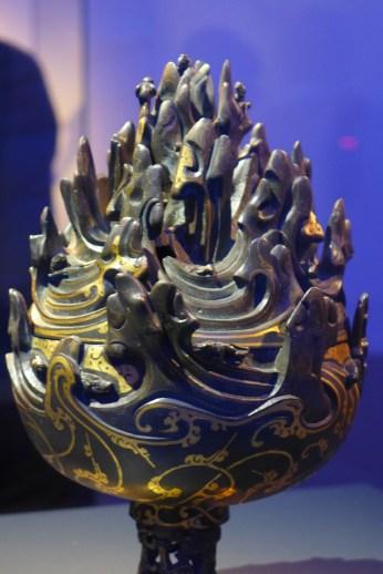 Splendeurs des Han - Musée Guimet - 10 - Brûle parfum boshanlu