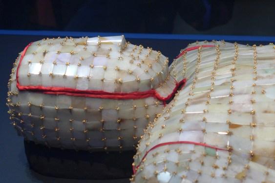 Splendeurs des Han - Musée Guimet - 14 - Linceul de jade du roi de Chu