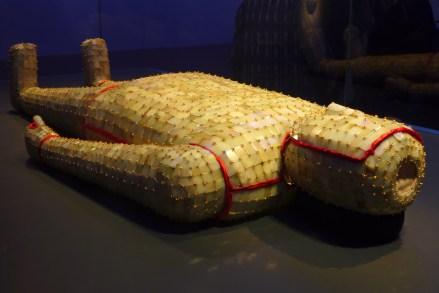 Splendeurs des Han - Musée Guimet - 16 - Linceul de jade du roi de Chu