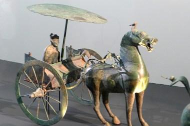Splendeurs des Han - Musée Guimet - 18 - Cortège funéraire en bronze