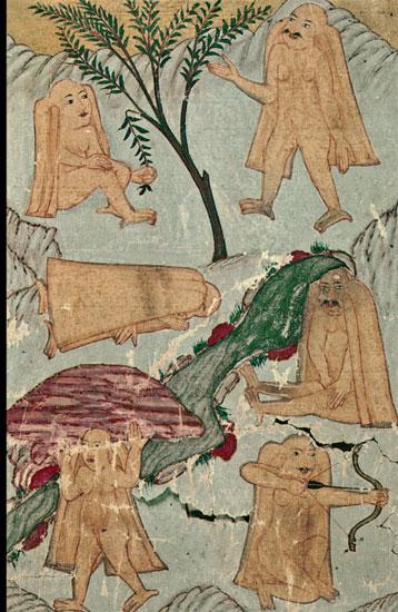 Ye'cûc-Me'cûc 1 - Ahval-i Kıyamet. Süleymaniye Kütüphanesi (2)