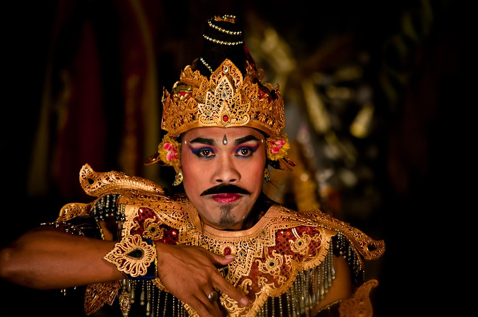 Danseur de Legong à Ubud - Photo © Matt Palsh