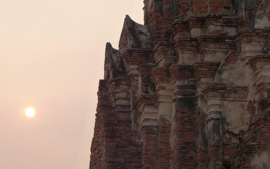 L'arrivée à Ayutthaya