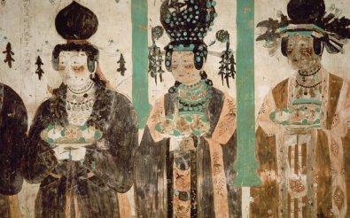 Fresque des grottes de Mogao 3