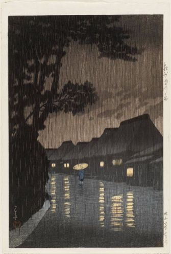 Pluie à Maekawa