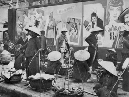 Hanoi - Scène de rue - 1959 - Rév Miklós 1