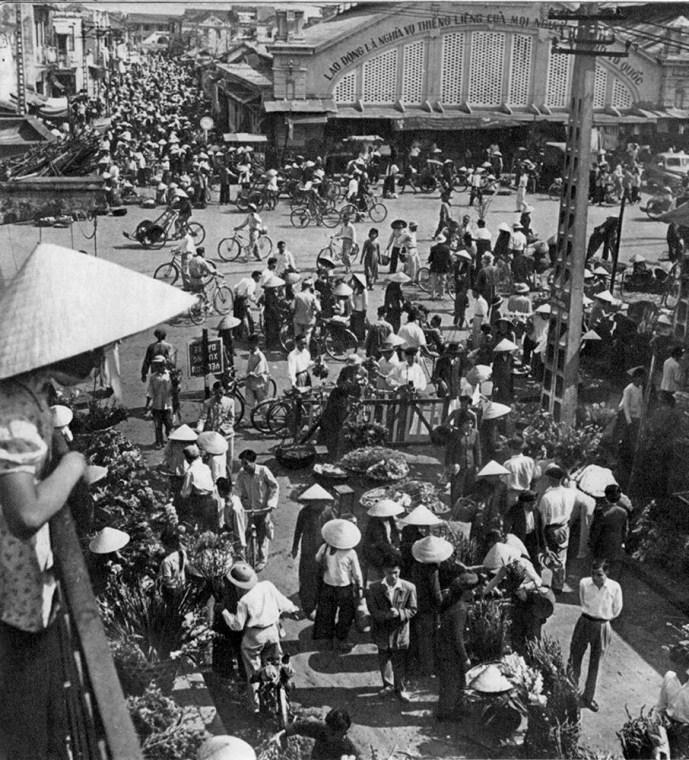 Hanoi - Scène de rue - 1959 - Rév Miklós 6