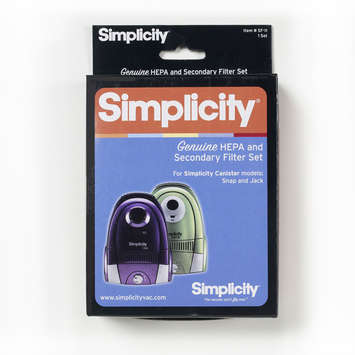 Simplicity SF-I1 Jack and Snap Canister Filter Set