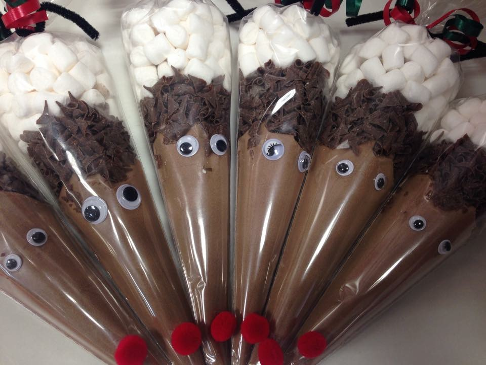 Reindeer Soup Cones Dartford Pre Filled Sweet Cones