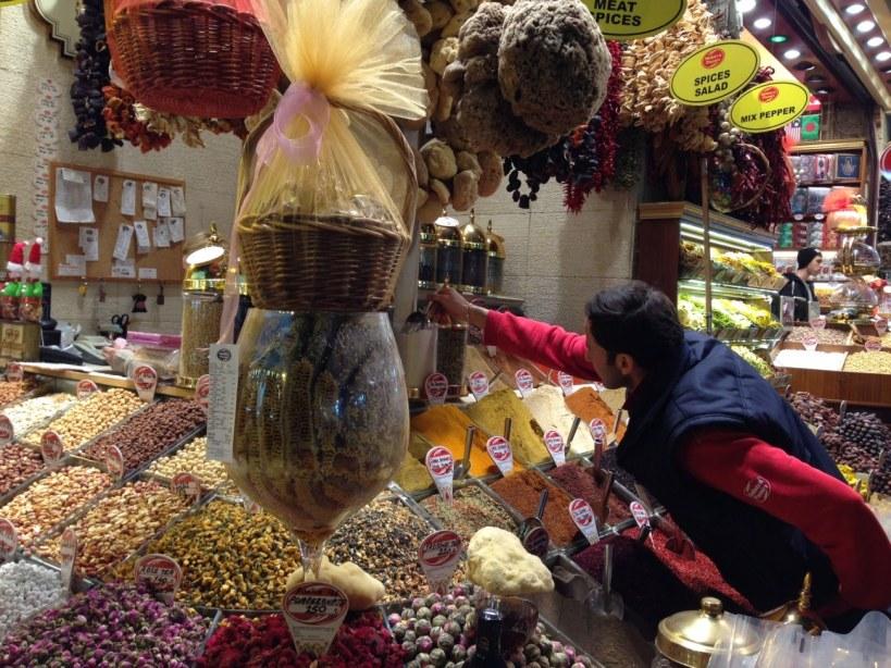 Spice Bazaar in Istanbul